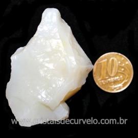 Opala Branca Pedra Genuina P/Coleçao ou Lapidaçao Cod 123807