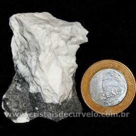 Howlita Pedra Natural P Colecionador e Esoterismo Cod 126796