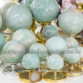 1 Kg Esfera Bola Amazonita Verde Boa Qualidade ATACADO 112691