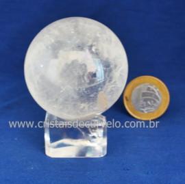 Bola Cristal Comum Qualidade Pedra Uso Esoterico Cod 121666