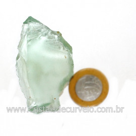 Obsidiana Verde Pedra Vulcanica Ideal P/ Coleçao Cod 126408