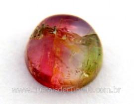 Gema Turmalina Melancia Pedra Natural de Garimpo Cod TM4868