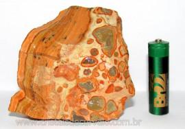 Leopardita ou Jaspe Leopardo Natural Da Africa Pedra Para Coleção Cod JL8770