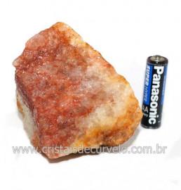 Hematoide Vermelho Natural Quartzo Cristalizado Cod 121527