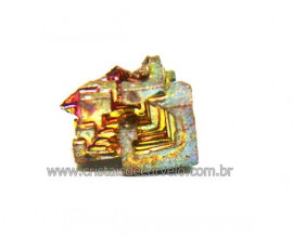 Bismuto Mineral ou Bismuth Stone Pedra Natural Cod BB7916