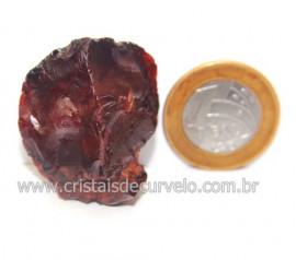 Ágata Cornalina Pedra Bruta Natural P/ Colecionar Cod 121360