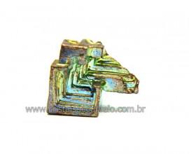 Bismuto Mineral ou Bismuth Stone Pedra Natural Cod BB7518