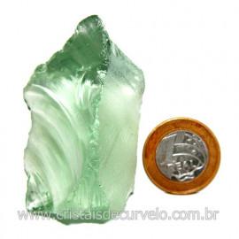 Obsidiana Verde Pedra Vulcanica Ideal P/ Coleçao Cod 119720