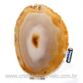 Chapa de Agata Natural Porta Frios Bandeja Pedra Natural 128767