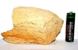 Pedra Areia ou Arenito Bruto Natural Colecionador Cod PA3381