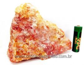 Hematoide Vermelho Pedra Natural Quartzo Cristalizado Cod 436.7