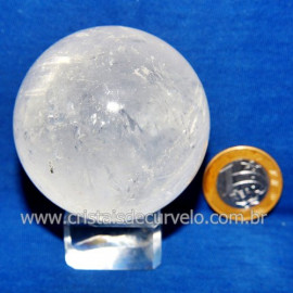 Bola Cristal Comum Qualidade Pedra Uso Esoterico Cod 117840