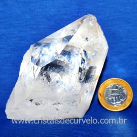 Lemuria Pequeno Quartzo Comum Cristal Lemuriano Natural Cod 119443