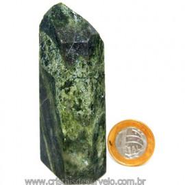 Ponta Epidoto Verde Na Matriz Ideal Para Coleção Cod 113185