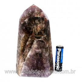 Ponta Pedra Fumetista Natural garimpo Lapidado Cod 128700