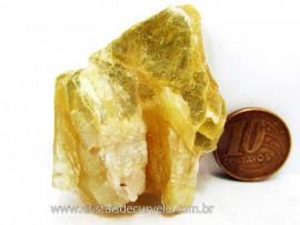 Chapa de Mica Amarela ou Lamina de Mica Amarela Bruta Natural de Garimpo  Cod 41.8