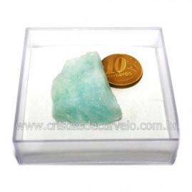 Aguas Marinhas No Estojo Berilo Natural Pedra Extra Cod 124020