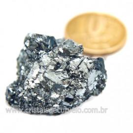 Galena Pedra Bruto Mineral Fonte Chumbo e Prata Cod 124246