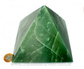 Piramide GRANDE Pedra Quartzo Verde Natural Queops cod PG9267