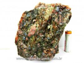 Riolita Rocha Vulcanica Pedra de Garimpo Bruto Mineral de Coleção cod 876.8