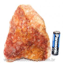 Hematoide Vermelho Natural Quartzo Cristalizado Cod 121494