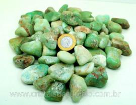 CRISOPRASIO Rolada Grande Pacote Com 1kg Pedra Natural