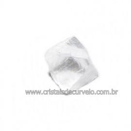Fluorita Cubica da Mongólia Pedra Natural Pra Coleção 115887