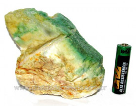 Jadeita Com Nefrita Pigmentada Mineral Natural Cod JN8521