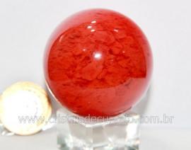 Esfera Cherry Pedra Familia Obsidiana Para Colecionador ou Esoterismo Cod 144.7