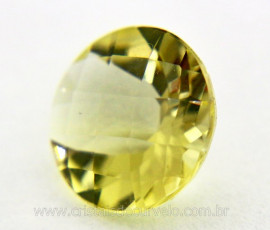 Gema Green Gold Brilhante Natural Montagem Joias Cod GG2278