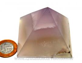 Piramide Pedra Fluorita Natural Baseada na Queops Cod PF3090