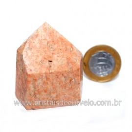 Ponta Amazonita Rosa Pedra Da Família Feldspato Cod 121431
