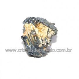 Rutilo na Matriz de Hematita Aglomerado Natural Cod 116304