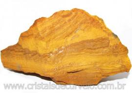 Jaspe Amarelo Pedra Bruta Natural P/ Esoterismo Cod 115211