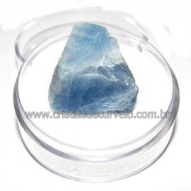 Calcita Azul do Mexico no Estojo Pedra Natural Cod 114200