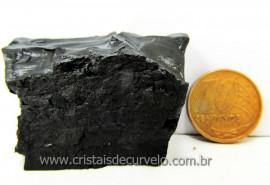 Azeviche Bruto Pedra Organica Para Esoterismo Ambar Negro Linhito Cod 88.3
