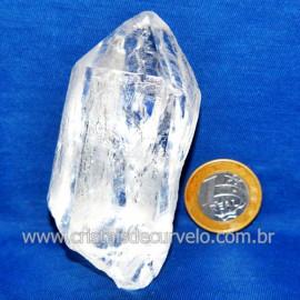 Lemuria Pequeno Quartzo Comum Cristal Lemuriano Natural Cod 119448