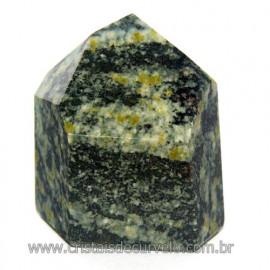 Ponta Pedra Quartzo Brasil Natural Gerador sextavado 113881