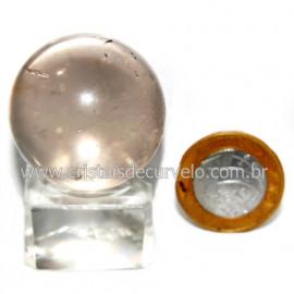 Esfera Quartzo Cristal Tok Fumê Extra Quartzo Fumado 119818