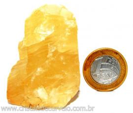 Calcita Mel Pedra Natural P/ Coleção e Esoterismo Cod 110319