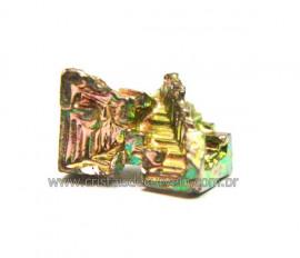 Bismuto Mineral ou Bismuth Stone Pedra Natural Cod BB9472