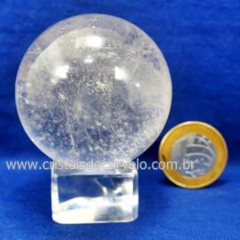 Bola Cristal Boa Qualidade Esfera Pedra Natural Cod 127554