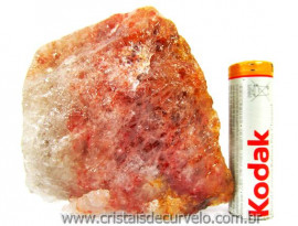 Hematoide Vermelho Pedra Natural Quartzo Cristalizado Cod 230.3