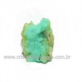 Crisoprasio Bruto Lasca No Estojo Mineral Natural Cod 118543