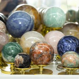 5 Kg Pacote Esferas Bola de Cristal Misto Extra no ATACADO