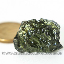Moldavita Pedra Formada por Impacto de Meteoro Cod 125159