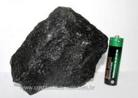 Quartzo Preto Bruto Quartzito Natural Esoterismo Cod QP8037