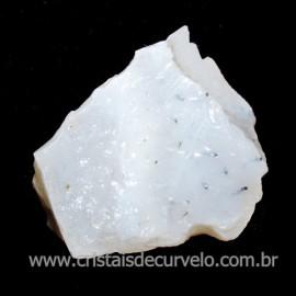 Opala Branca Pedra Genuina P/Coleçao ou Lapidaçao Cod 113847