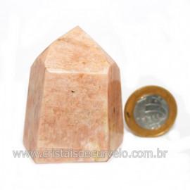 Ponta Amazonita Rosa Pedra Da Família Feldspato Cod 121430