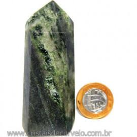 Ponta Epidoto Verde Na Matriz Ideal Para Coleção Cod 113184